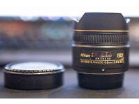 Nikon Nikkor 10.5MM F2.8G AF DX IF-ED Fisheye