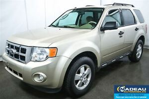 2011 Ford Escape XLT AWD  MAGS CRUISE  A/C