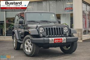 2015 Jeep Wrangler Sahara/MANUAL/ NAVIGATION/  HARDTOP Kitchener / Waterloo Kitchener Area image 1