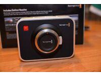 Blacmagic 2.5k Cinema camera MFT + Lenses