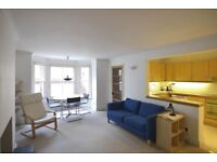Clapham SW11. Spacious architect designed s/c one double bedroomed flat in popular area.