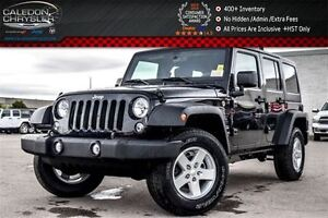 2016 Jeep WRANGLER UNLIMITED New Car Sport|4x4|Hard Top|Bluetoot
