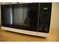 Sharp 25 Litre Solo Microwave, White