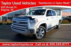 2015 Toyota Tundra Platinum 5.7L V8 1794 EDITION PST PAID