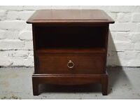 Stag Minstrel Single drawer bedside cabinet (DELIVERY AVAILABLE)