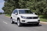 2016 Volkswagen Tiguan white transfer lease