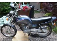 1998 HONDA CG125 SOLD FOR SPARES OR REPAIRS