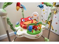 Baby bouncer - Fisher Price Rainforest Jumperoo