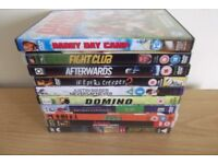 10 DVD,S Including Daddy Day Camp, Domino And Fight Club
