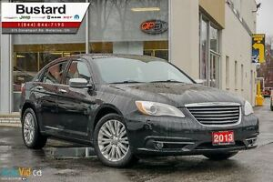 2013 Chrysler 200 LIMITED | NAVI | LEATHER | V6