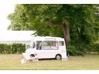 Vintage Ice Cream Van Hire Weddings and Events
