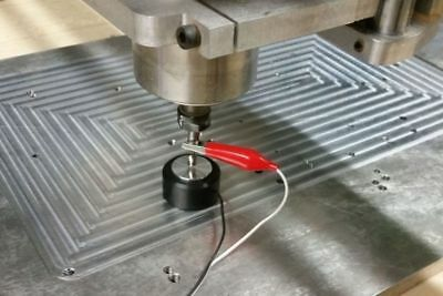 Cnc Z-axis Tool Setting Touch Plate Probe Mach3 Router Mill