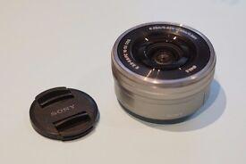 Sony SELP 16 50 camera lens