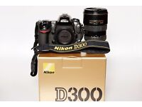 Used Nikon D300 12.3MP Digital SLR Camera - Body only and in good condition FOR SALE