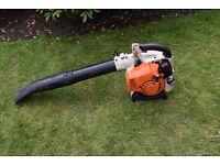 stihl petrol leaf blower bg 85