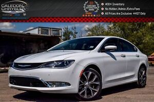 2015 Chrysler 200 C AWD|Navi||Pano Sunroof|Safetac|Backup Cam|Bl