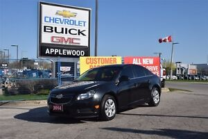 2014 Chevrolet Cruze BLUETOOTH, TURBO, ONE OWNER TRADE IN