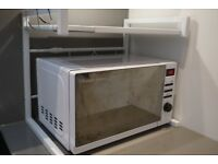 Russell Hobbs White Microwave