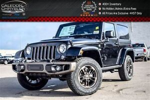 2017 Jeep Wrangler New Car Sahara 75th Anni|Dual Top|Navi|Blueto