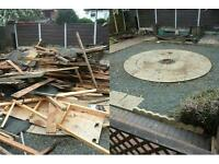 CHEAPER THAN A SKIP (07850865247) BUILDERS RUBBISH REMOVAL ( KITCHENS , BATHROOMS , WOOD, RUBBLE )