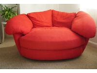 Comfy red chair