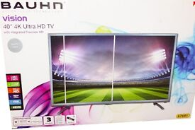 4K 40 inch TV! Bauhn 40 inch 4K Ultra HD TV with Integrated Freeview HD!