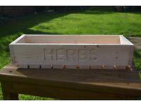 Handmade Custom Herb Box