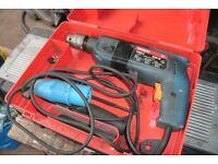 Bosch blue 240v hammer drill.