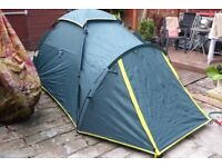 Highpoint Viking Dome tent (like Khyam) and Equipment