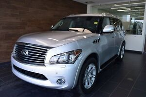 2014 Infiniti QX80 7-Passenger 7 Passenger, Tech Package, Headre