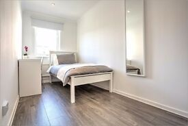Lovely, light and large double room in newly refurbished apartment! Can't view? Arrange a Skype chat