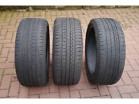 goodyear excellence runflat tyres