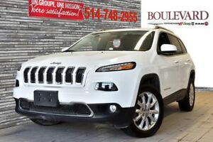 2015 Jeep Cherokee LIMITED 4X4 CUIR TOIT PANO CAMERA SIEGE VENTI