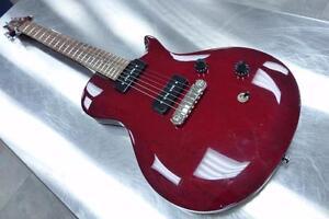 Guitare électrique PRS SE Soapbar Vintage cherry  #F015100