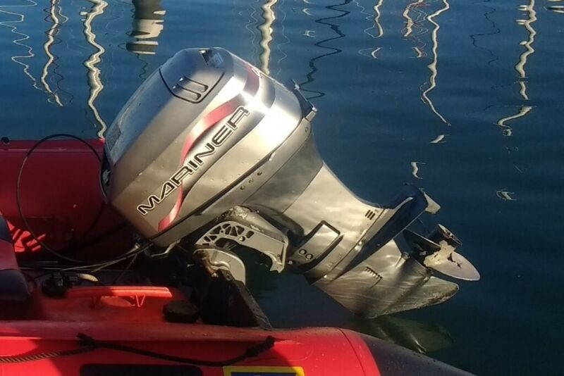 Mariner 40 HP outboard boat engine, perfect runner, same as Mercury 30 / 40 HP not Jhonson or Yamaha for sale  Blackpool, Lancashire