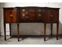 Regency style sideboard (DELIVERY AVAILABLE)