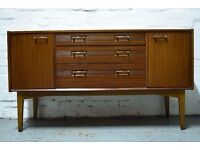 Retro sideboard (DELIVERY AVAILABLE)