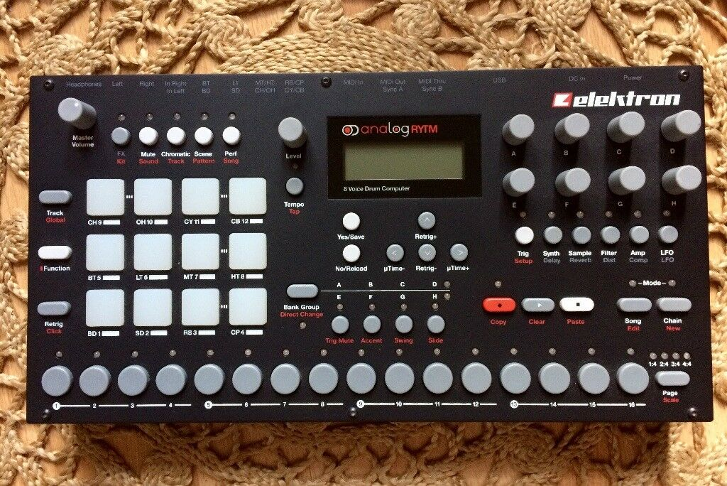Elektron Analog Rytm Drum Machine Synth Sampler