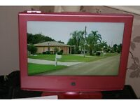 """Neon 19"""" lcd hd tv with freeview, dvd player, Ipod dock, in very good condition."""