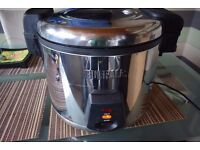 Buffalo Electric Rice Cooker 6Ltr - Pressure Warmer Steamer