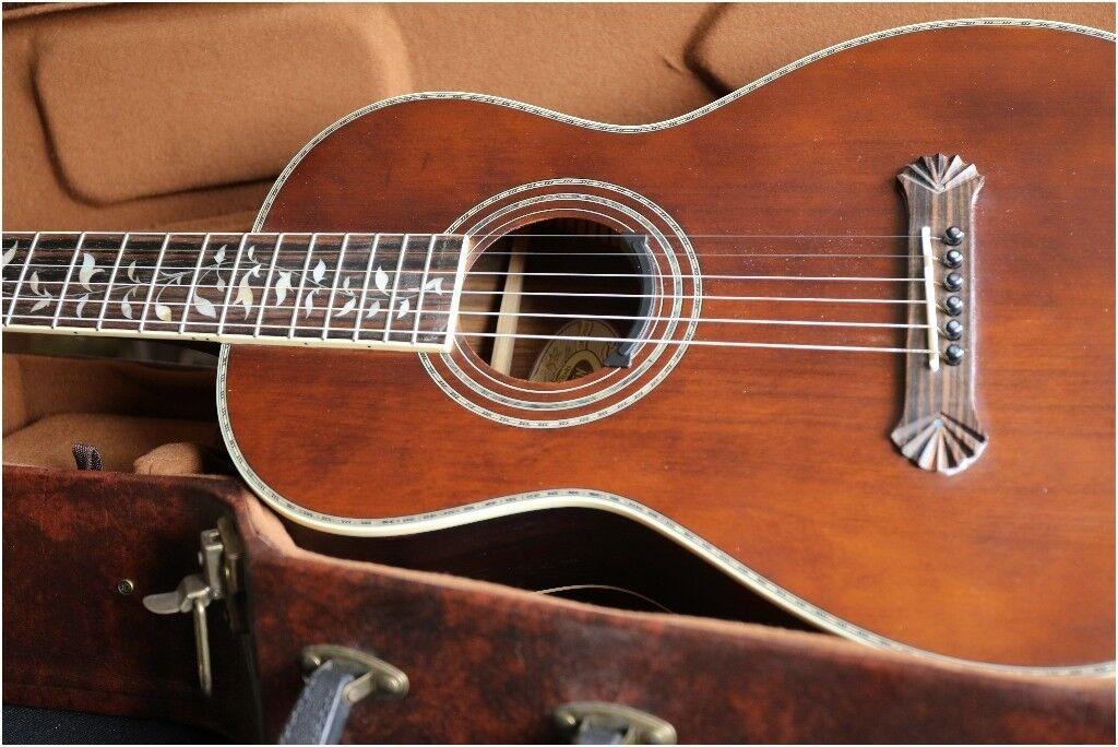 Washburn R320 Swrk Acoustic Parlour Guitar In Bulkington