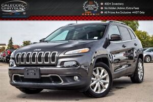 2017 Jeep Cherokee Limited|Backup Cam|Bluetooth|Leather|R-Start|