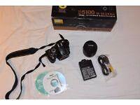 Nikon D5100 DSLR bundle+ NIKKOR 18-55mm f3.5-5.6G VR Lens