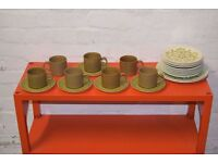 J & G Meakin teaset (DELIVERY AVAILABLE)