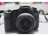 Canon 60D DSLR + 18-50mm (IS) Canon kit lens for sale