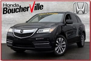 2015 Acura MDX AWD Cuir Camera Navigation Package