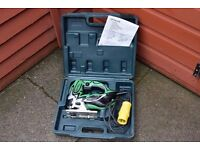 hitachi 110v jigsaw in box