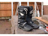 Morocross Alpinestars Boots Tech3 size11