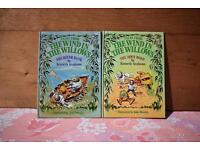 The Wind in The Willows 2 Hardback Books retro vintage