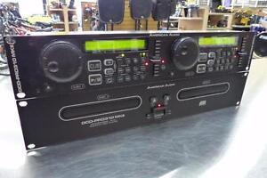 Lecteur CD double + controller Rackmount American Audio  #F009047